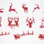 Vista previa de vectores de navidad