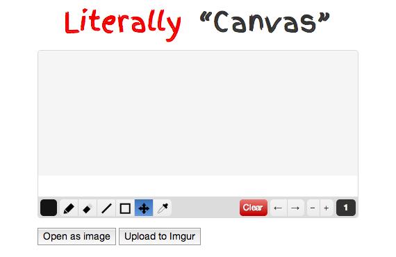 herramienta para dibujar con HTML5 Canvas