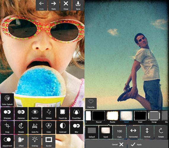 Pixlr: Excelente editor de fotografías para iOS y Android