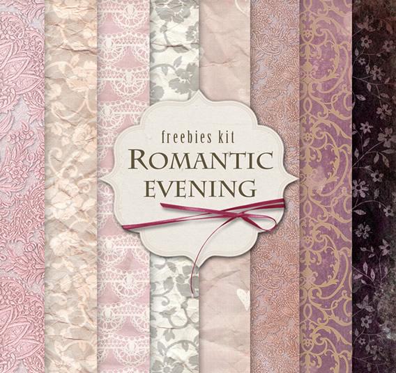 Texturas estilo romántico