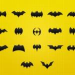 La insignia de Batman y sus modificaciones en .PSD