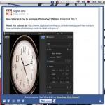 MenuTab: aplicación liviana de Facebook para Mac