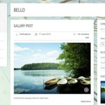 Theme para blog con sección de portfolio