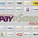 Botones PSD con los servicios de pago por Internet más populares