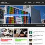 Theme para Wordpress estilo magazine