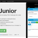 Framework para desarrollar aplicaciones móviles con HTML5