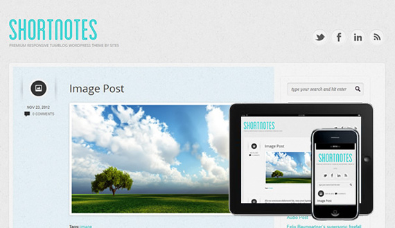 Themes estilo Tumblr para Wordpress