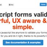 Validar formularios con JavaScript