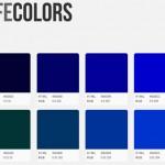 Colección de colores seguros para la web
