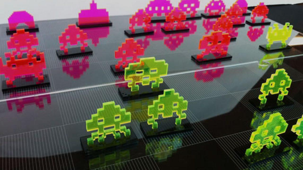Juego De Ajedrez De Space Invaders Kabytes