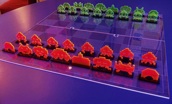 Space Invaders Chess