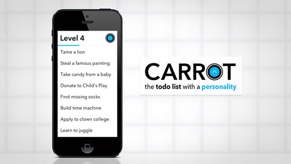 Carrot: To-Do list para iOS