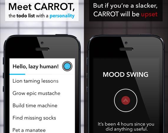 Carrot: To-Do list para iOS