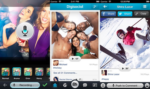 Digisocial for iPhone