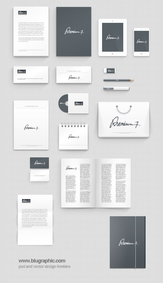 Corporate Identity Mock-Up