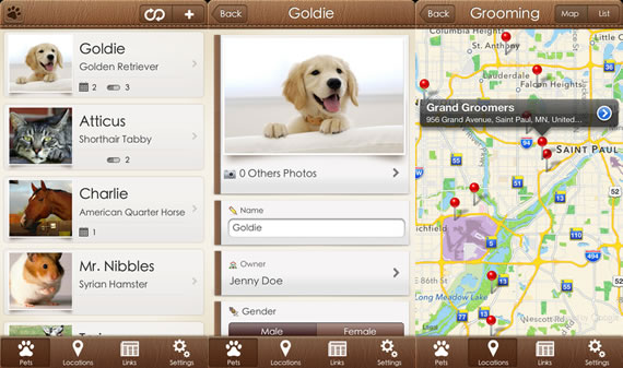Pets+ aplicación para iPhone