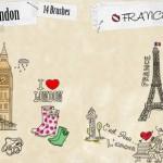 Brushes de Paris y Londres para Photoshop