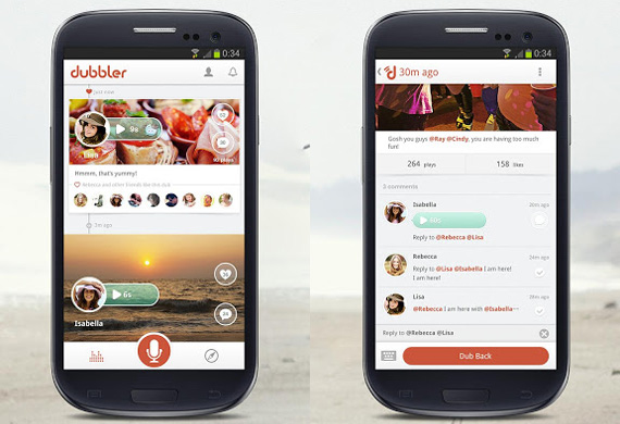 Red social de voz en Android y iPhone