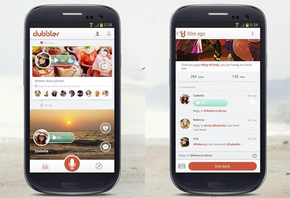 Red social de voz en Android y iPhone