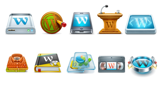 Iconos de Wordpress