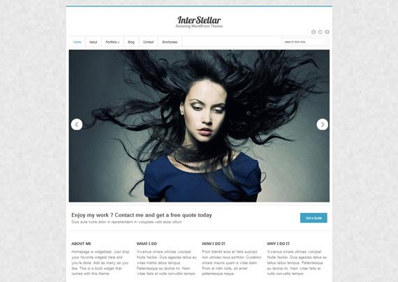 Interstellar: Theme responsive para WordPress