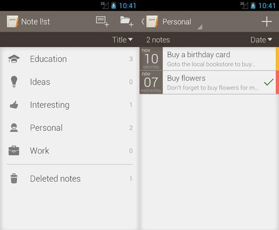 ToDo List gratuito para Android
