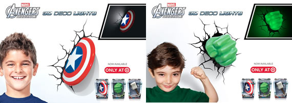 Marvel Avengers 3D Light FX