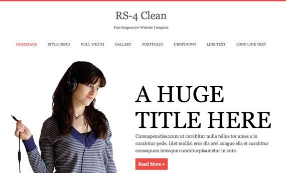 Plantilla HTML R2-4 Clean
