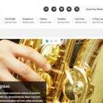 Symfoni: plantilla web en HTML