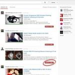 Personalizar YouTube quitando opciones innecesarias
