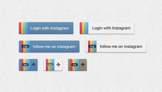 Iconos de Instagram