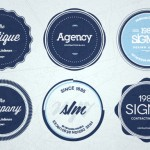Badges Estilo Retro