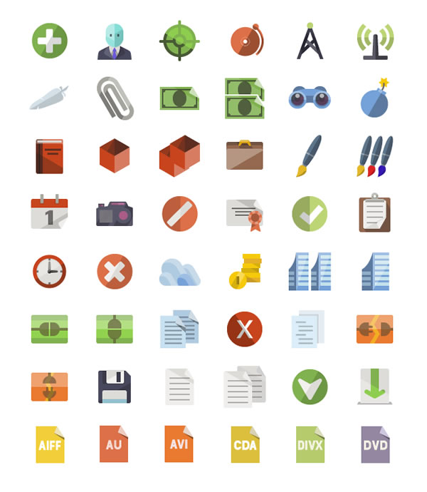 Flat Icons de IconShock