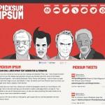 Picksum Ipsum: una alternativa original para el clásico Lorem Ipsum