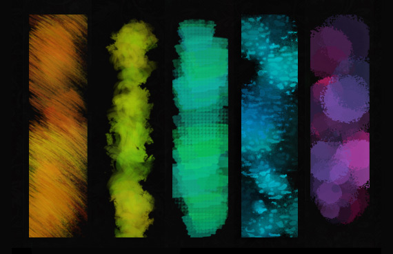Brushes con texturas para Photoshop