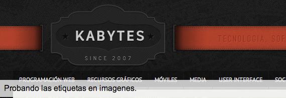 etiquetas en imagenes con CSS3