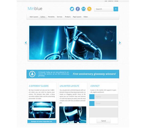 Minimal: Theme con múltiples formatos para WordPress
