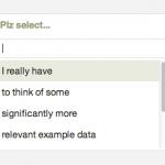 select personalizado y con filtro de opciones