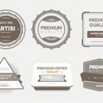 Badges calidad premium