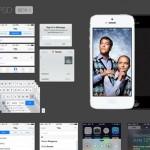 iOS7 GUI en PSD