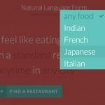 Formularios en lenguaje natural