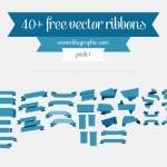 Ribbons vectorizadas
