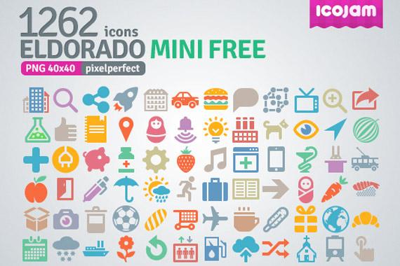 Iconos gratuitos pixel perfect