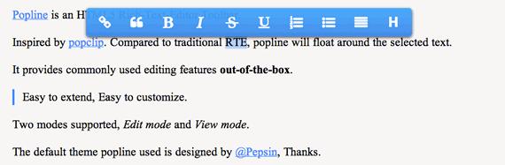 editor html5 flotante