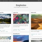 Theme estilo Pinterest para Wordpress