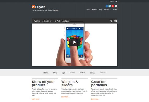 Theme para productos en WordPress