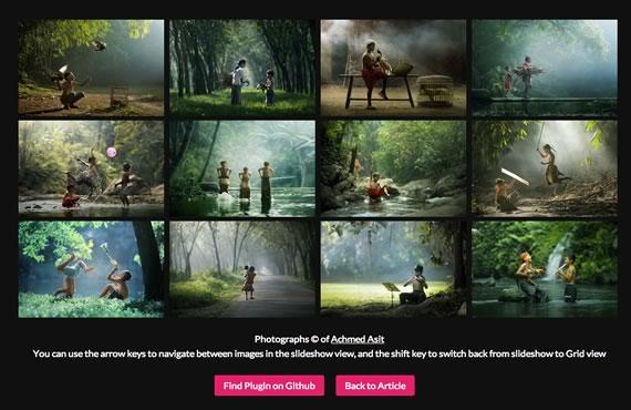 galeria de fotos gratis css3 jquery
