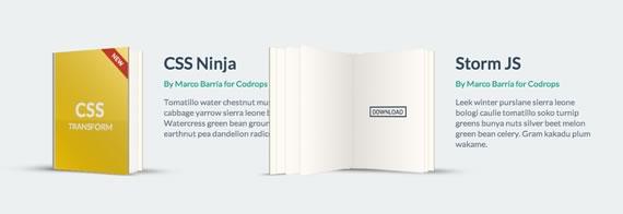 libro animado con CSS3