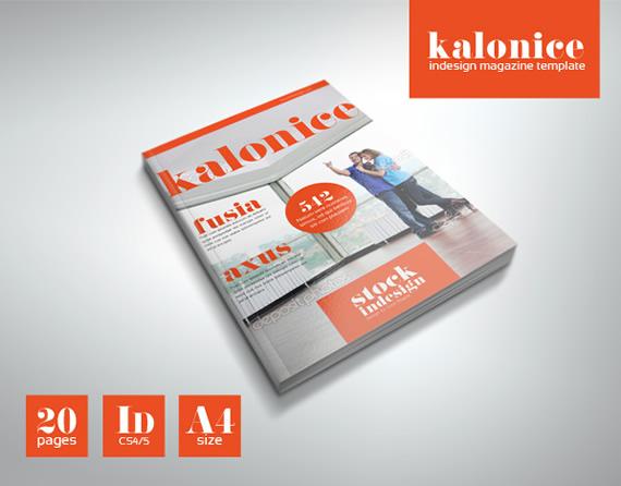 Revista de estilo moderno