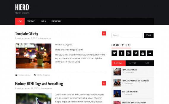 Temas gratis para WordPress